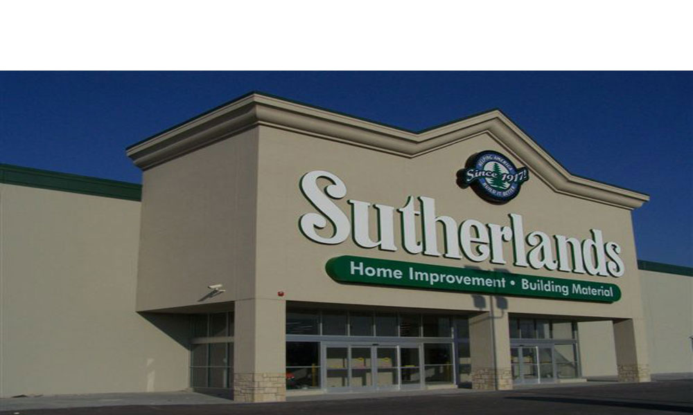 Sutherlands Hardware in Harrisonville Missouri a 130,000 Square Foot New Free Standing Commercial Retail Building by Luke Draily Construction in Kansas City