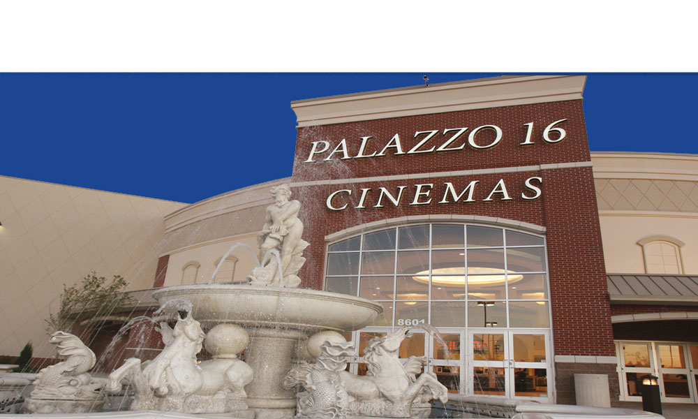 Palazzo 16 Cinemas in Overland Park Kansas a 60,00 Square Foot New Free Standing Movie Theater by Luke Draily Construction in Kansas City